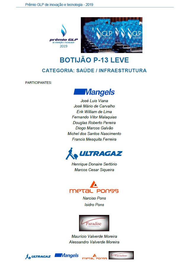 BOTIJAO P-13 LEVE