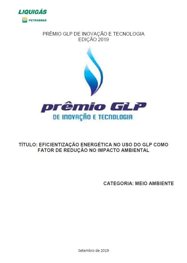 EFICIENTIZACAO ENERGETICA NO USO DO GLP COMO FATOR DE REDUCAO NO IMPACTO AMBIENTAL