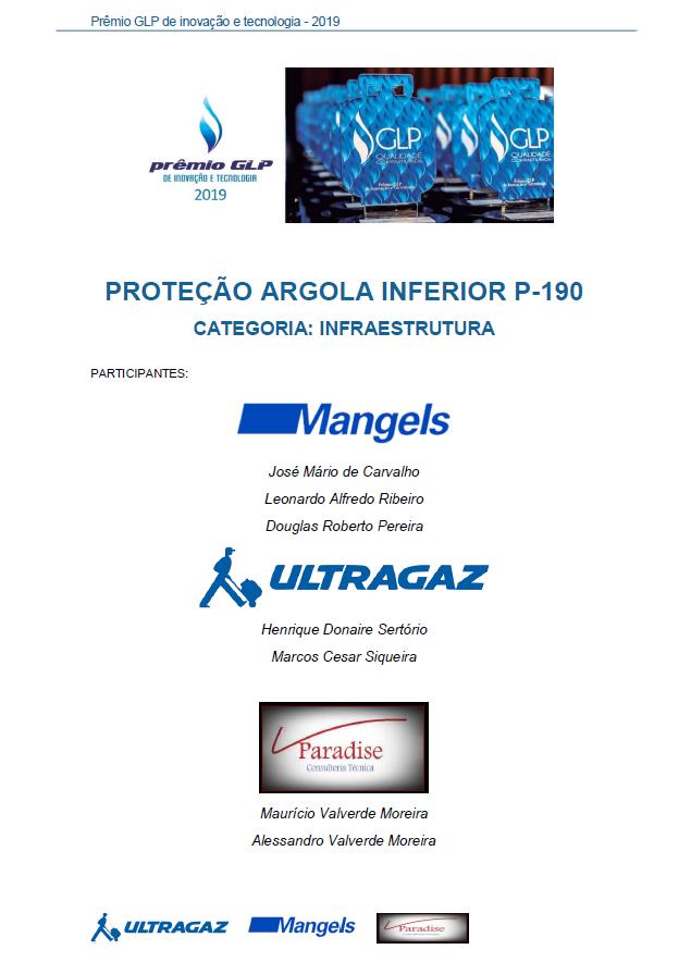 PROTECAO ARGOLA INFERIOR P-190
