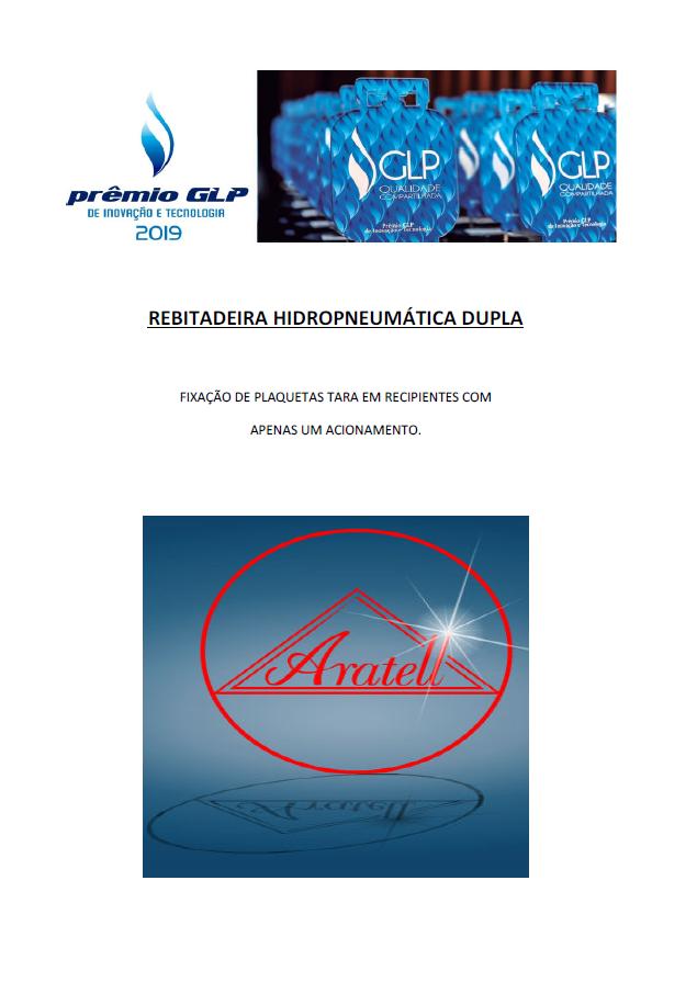 REBITADEIRA HIDROPNEUMATICA DUPLA