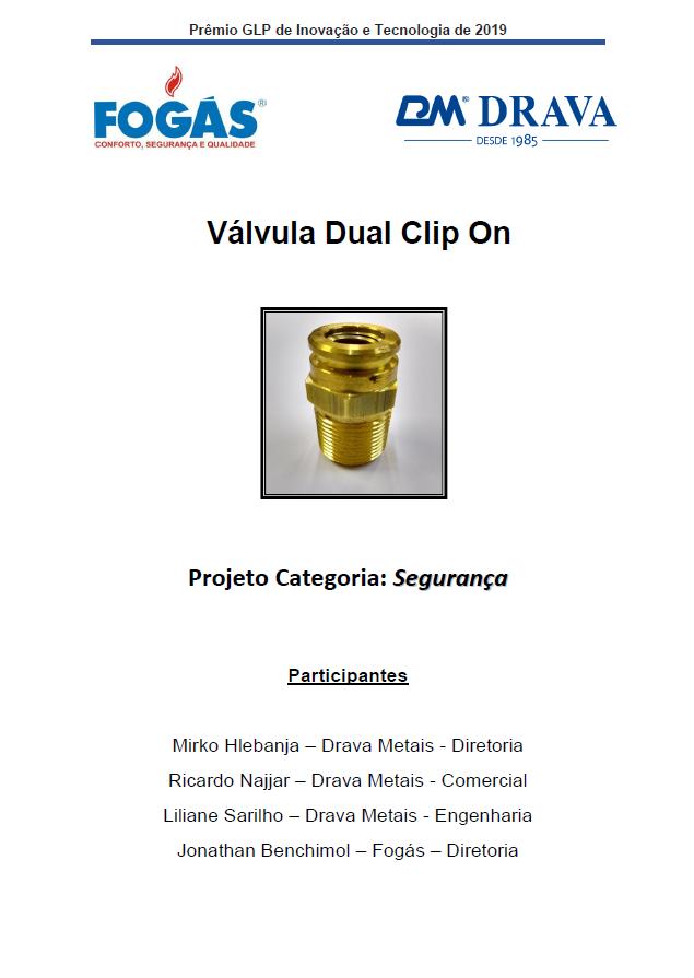 VALVULA DUAL CLIP ON